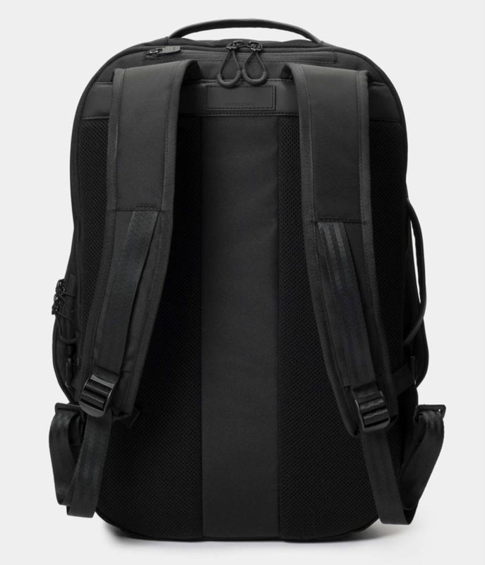 OpposeThis Invisible Carry-On Backpack Comfy and breathable back panel helps you carry all yo shiiiiit.