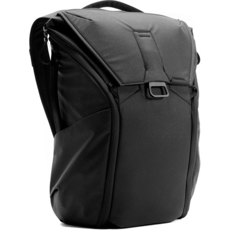 Peak Design Everyday Backpack Pretty slick look (especially in black). A little bit Elon Musk-y rocket-pack.