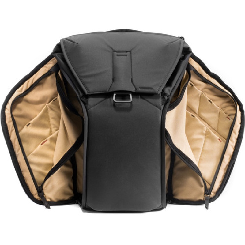 "Peak Design Everyday Backpack Innovative ""side panel"" design gets you in the bag from either side."
