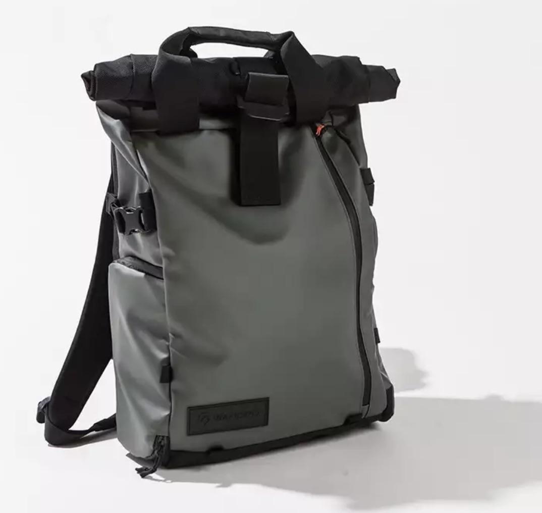 Wandrd Prvke Rolltop Backpack Good look. Kind of an urban/outdoor aesthetic