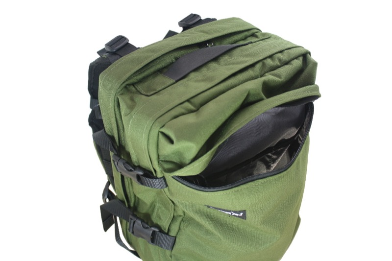 Greenroom136 Rainmaker Backpack In use you find the organization and pocket sizes are great on this bag.
