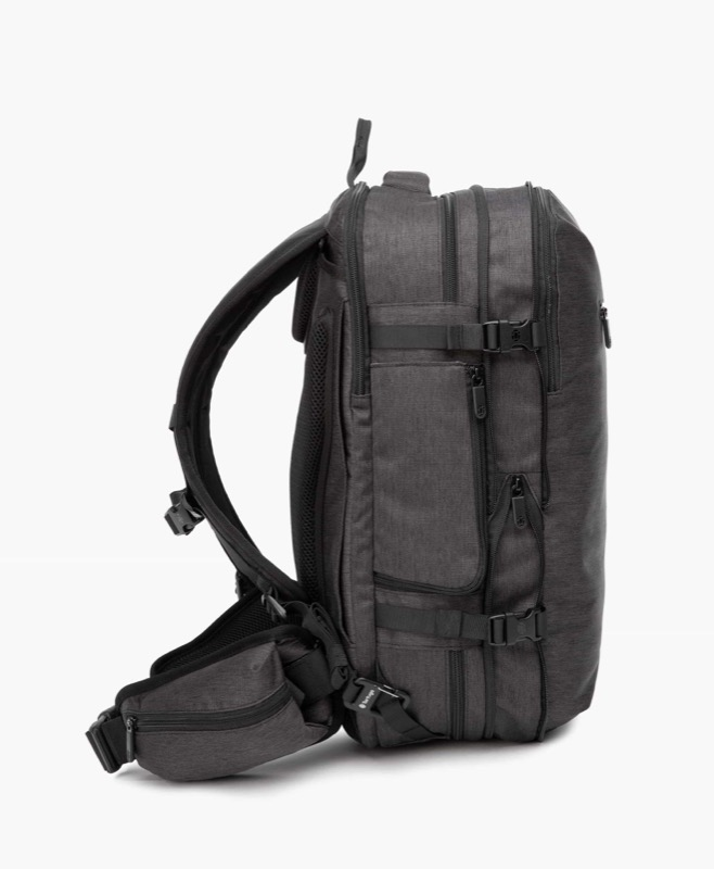 Tortuga Setout Divide Travel Backpack Here is the bag fully expanded for travel.