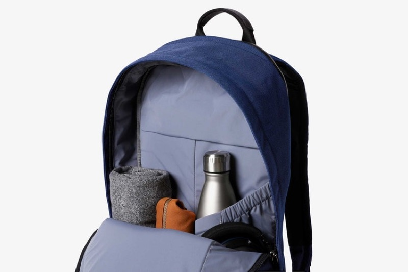 Bellroy Classic Backpack Plus Just enough capacity for daily essentials. Includes an internal water bottle sleeve.