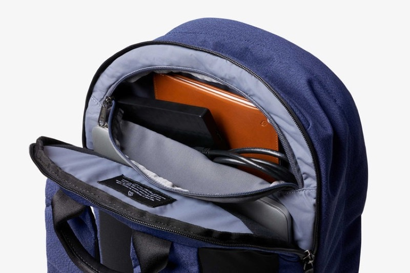 Bellroy Classic Backpack Plus Really lovely organization details on this backpack. Bellroy do real good work.