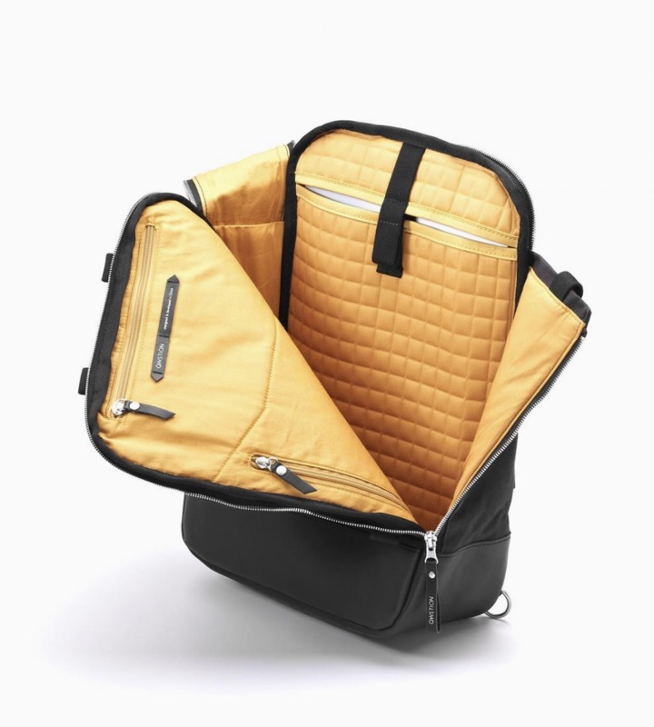 Qwstion Daypack (Office Backpack) Lovely inner fabric and innovative organization panels for your daily essentials.
