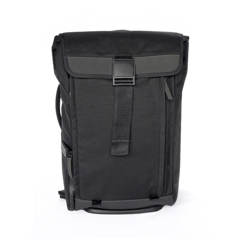 Dayfarer Backpack Sleek looks. Very clean, black on black, fits with lots of clothing styles.
