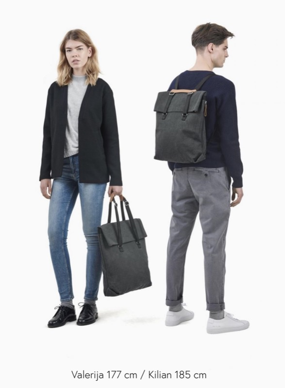 Qwstion Day Tote Backpack Modern, stylish, creative aesthetic.