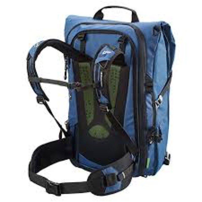Kathmandu Federate Adapt Hybrid Travel Bag And the back panel and straps are extremely comfortable and breathable.
