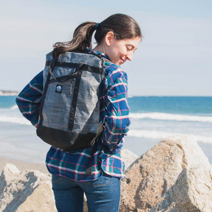 Flowfold Denizen Packable Backpack Made from extremely durable materials and almost entirely water resistant.