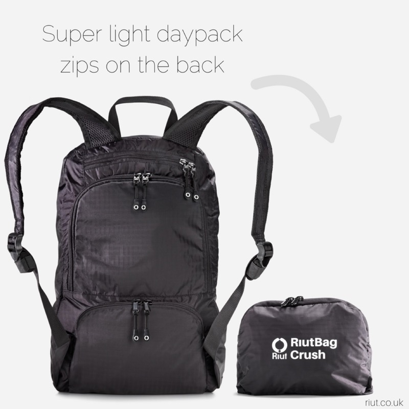 RiutBag Crush Packable Daypack