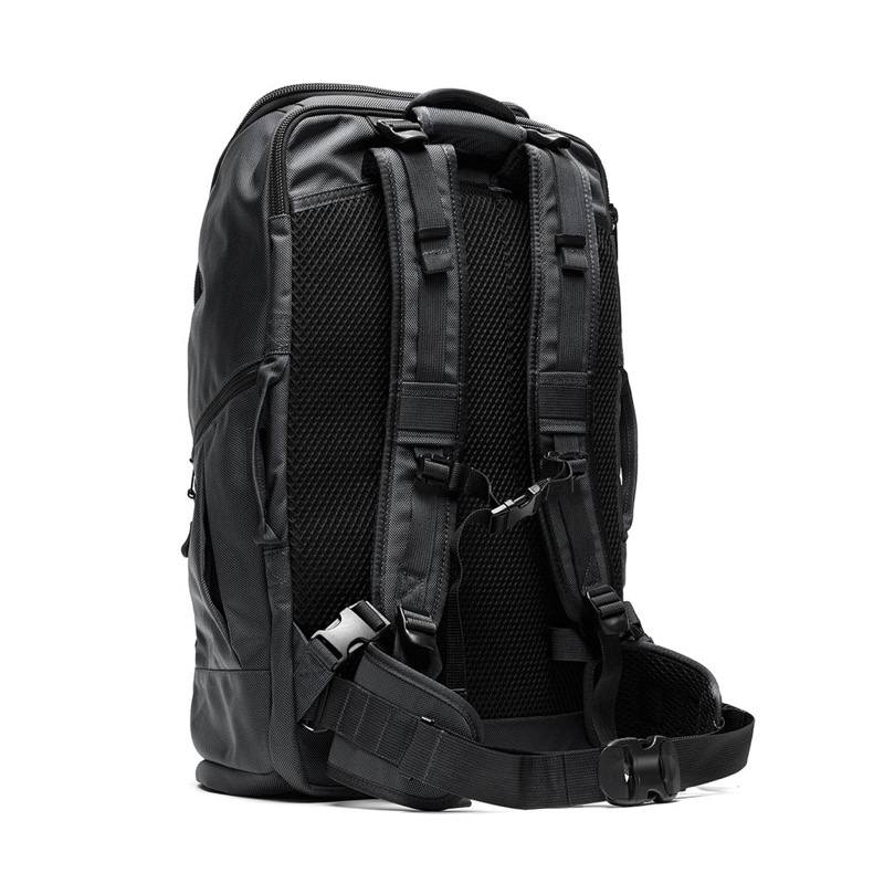 DSPTCH Travel Pack Extremely comfortable back panel and straps.