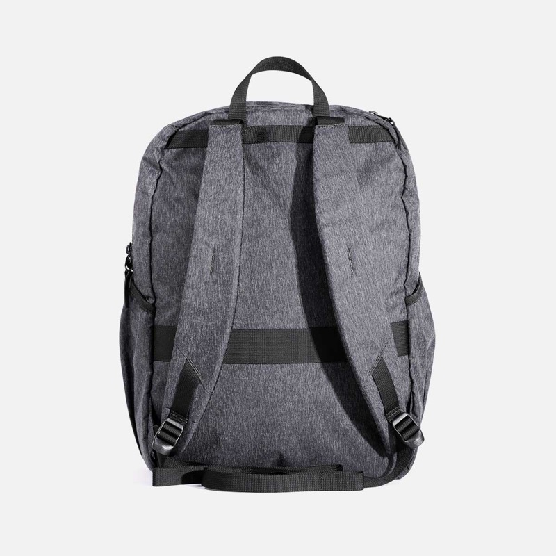 Aer Go Packable Backpack Padded straps and multiple external pockets (including a lovely Fidlock magnetic front clip)